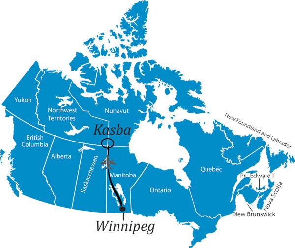 Best canadian fishing resorts location for Best canadian fishing lodges