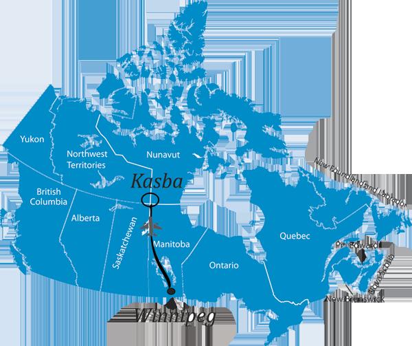 Best Canadian Fishing Resorts Location - Canada location